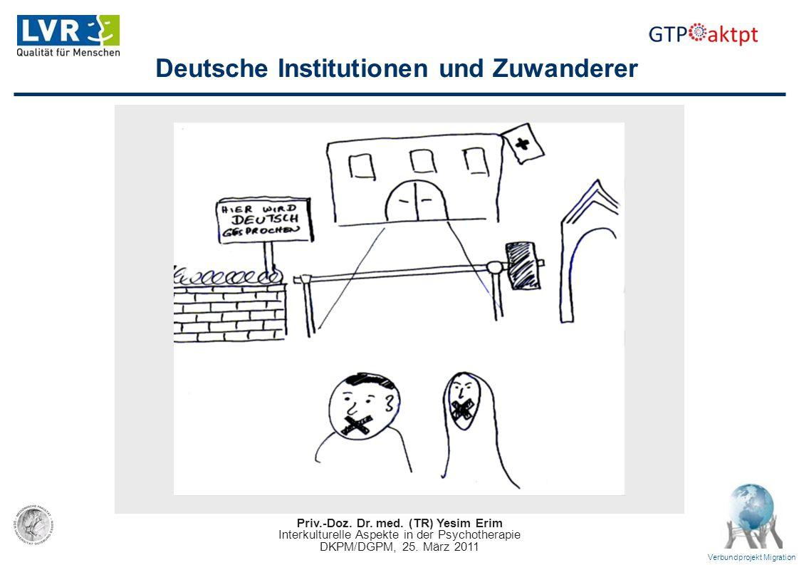 Deutsche Institutionen und Zuwanderer