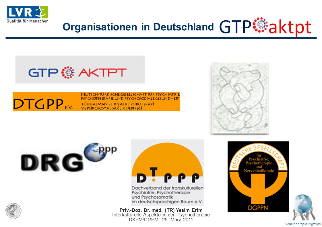 Organisationen in Deutschland