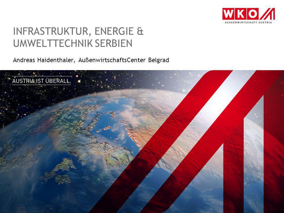 INFRASTRUKTUR, Energie & Umwelttechnik Serbien