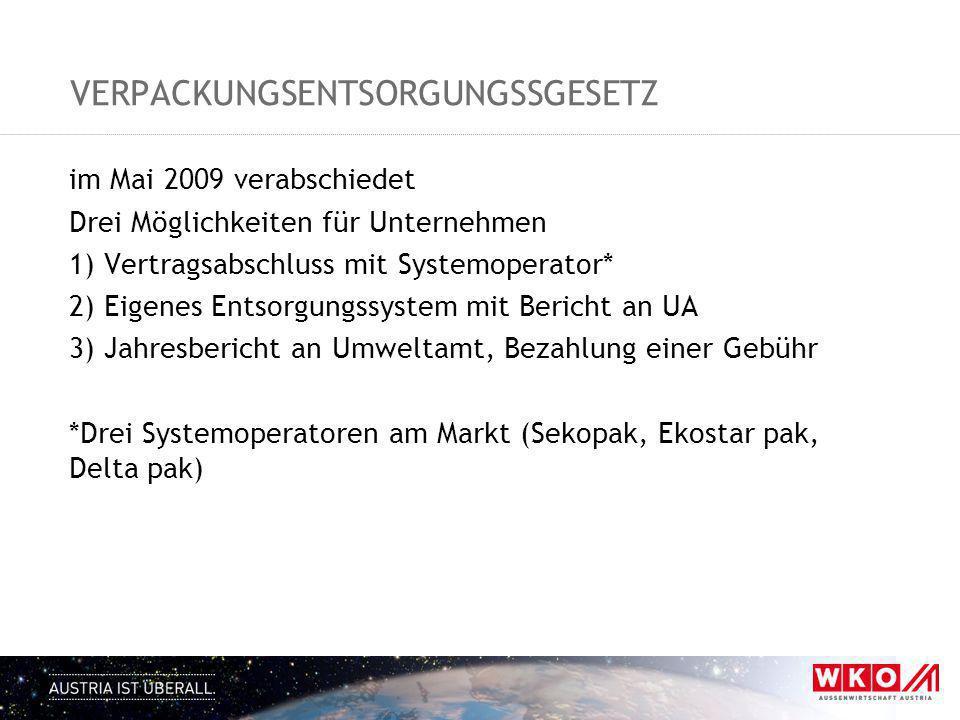 VerpackungsENTSORGUNGSsgesetz
