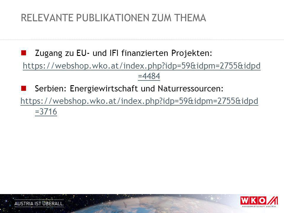 Relevante Publikationen zum Thema