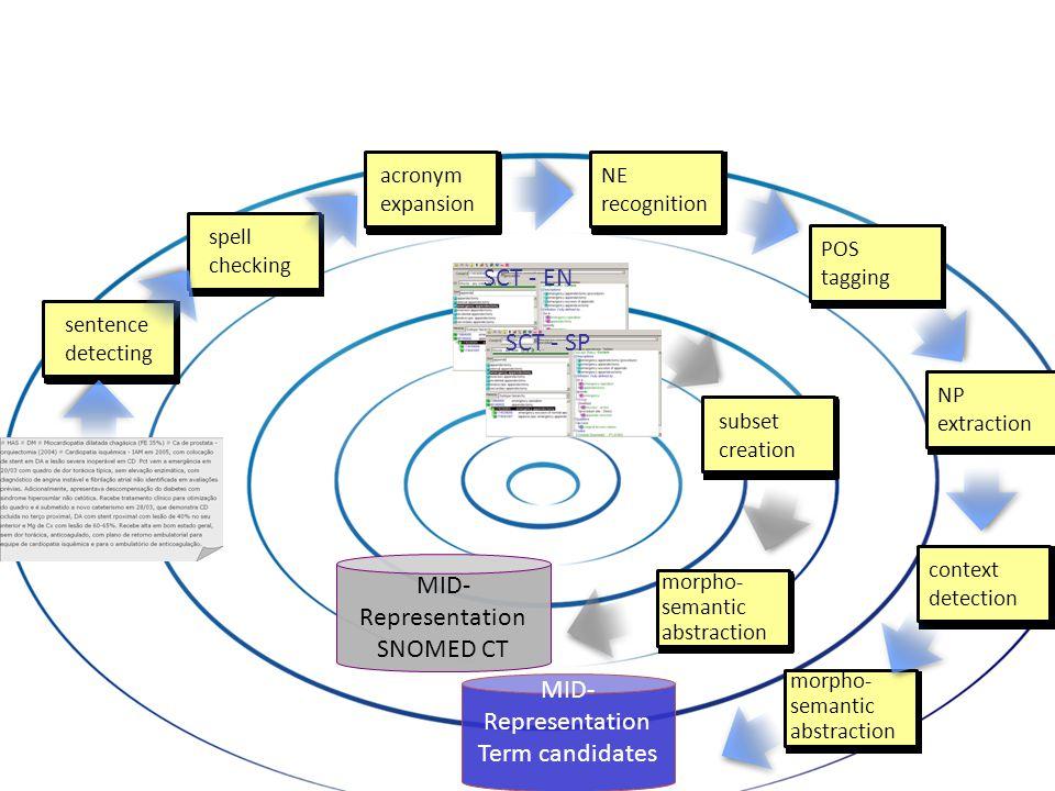 MID- Representation SNOMED CT
