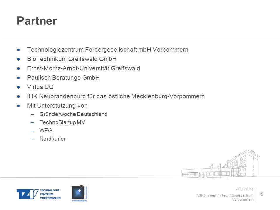 Partner Technologiezentrum Fördergesellschaft mbH Vorpommern
