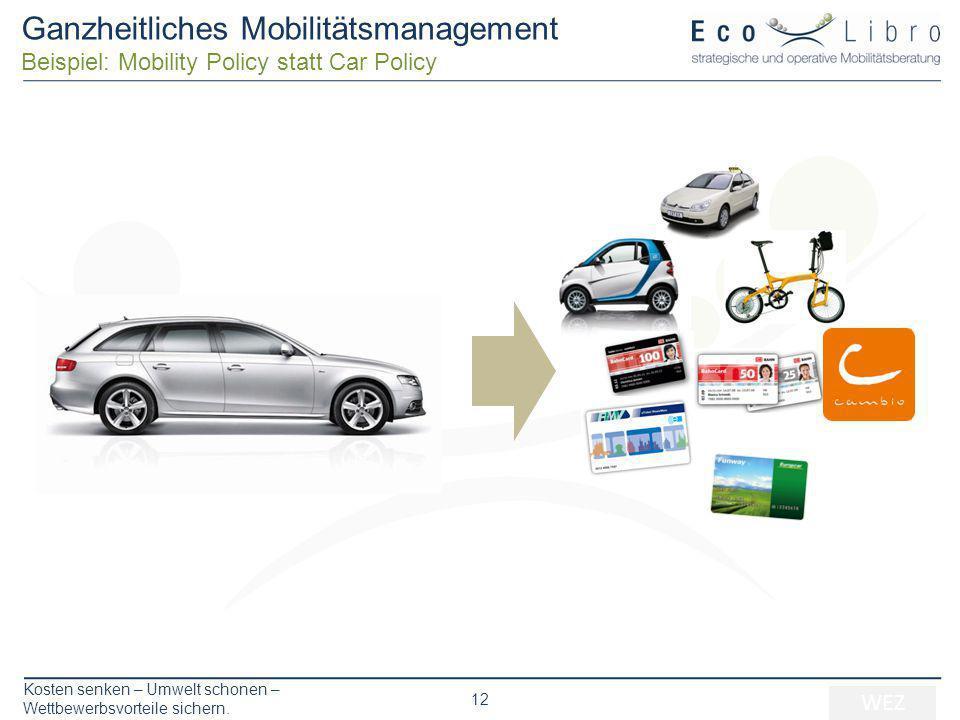 Ganzheitliches Mobilitätsmanagement