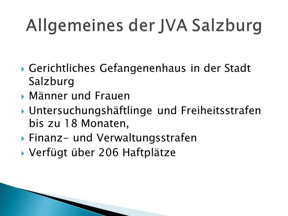 Allgemeines der JVA Salzburg