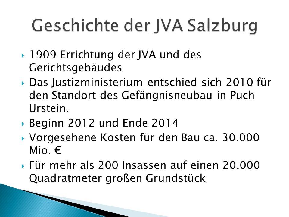 Geschichte der JVA Salzburg