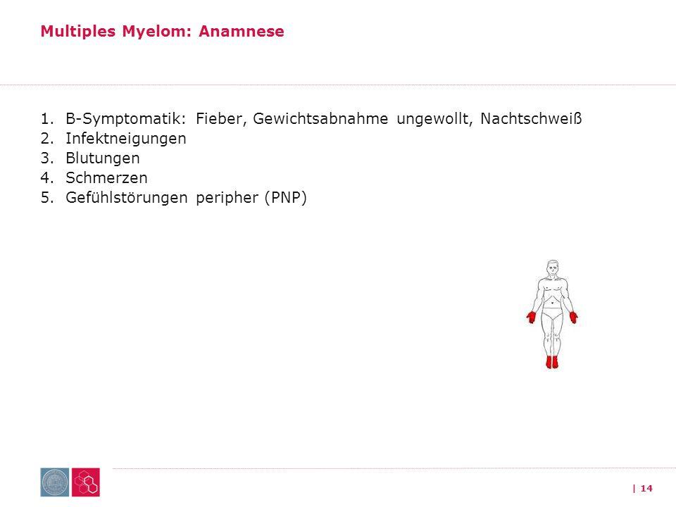 Multiples Myelom: Anamnese