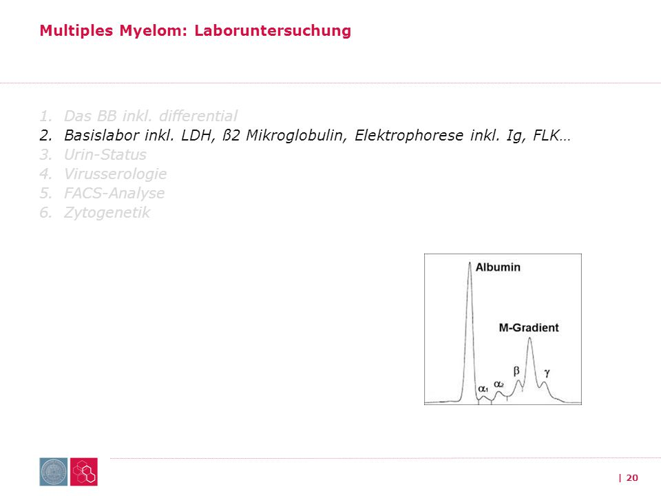 Multiples Myelom: Laboruntersuchung