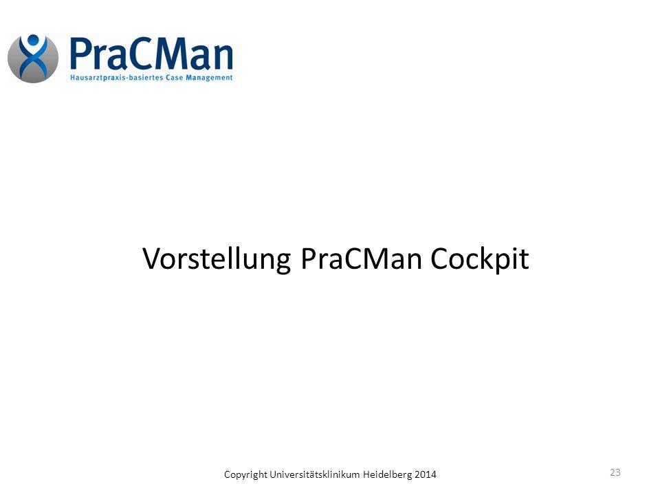 Vorstellung PraCMan Cockpit