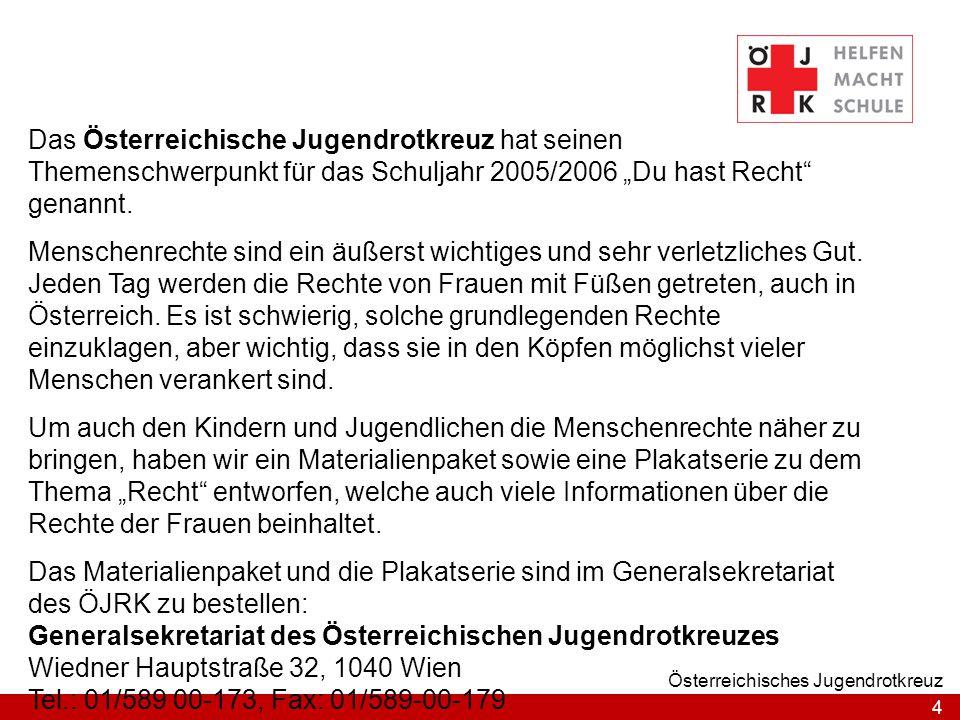 Generalsekretariat des Österreichischen Jugendrotkreuzes
