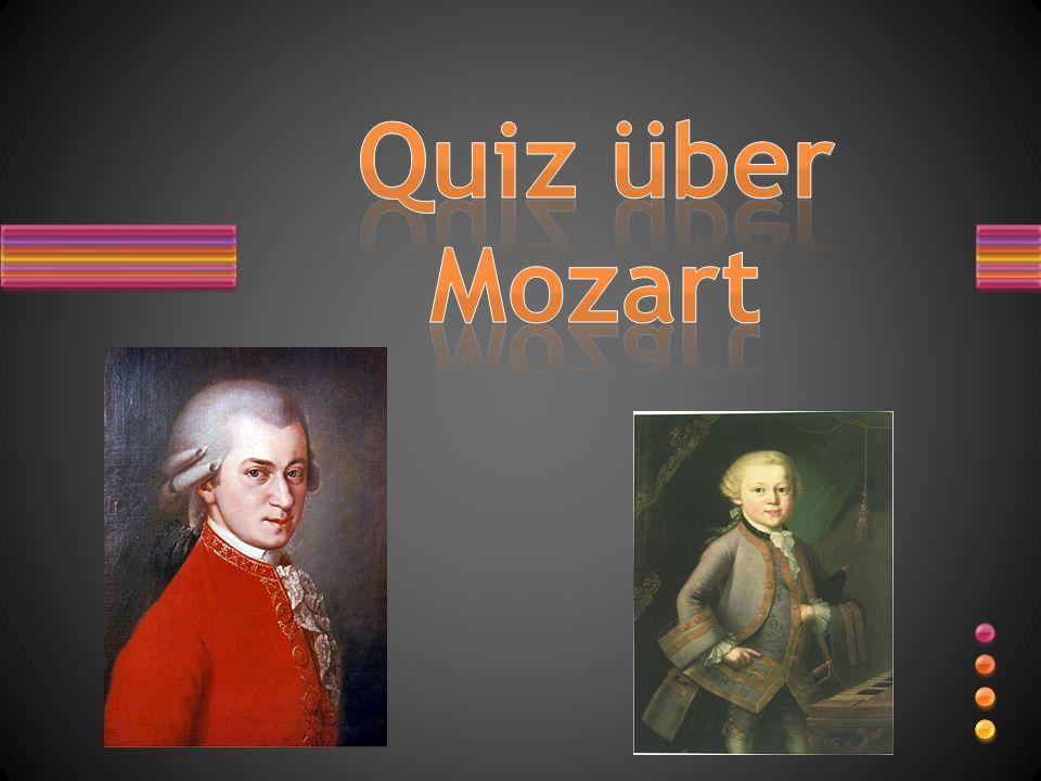 Quiz über Mozart