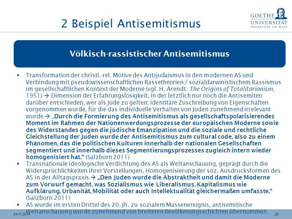 2 Beispiel Antisemitismus