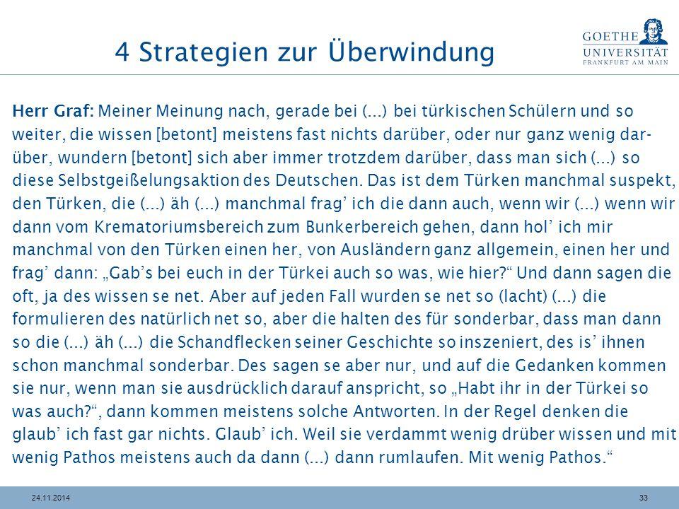 4 Strategien zur Überwindung