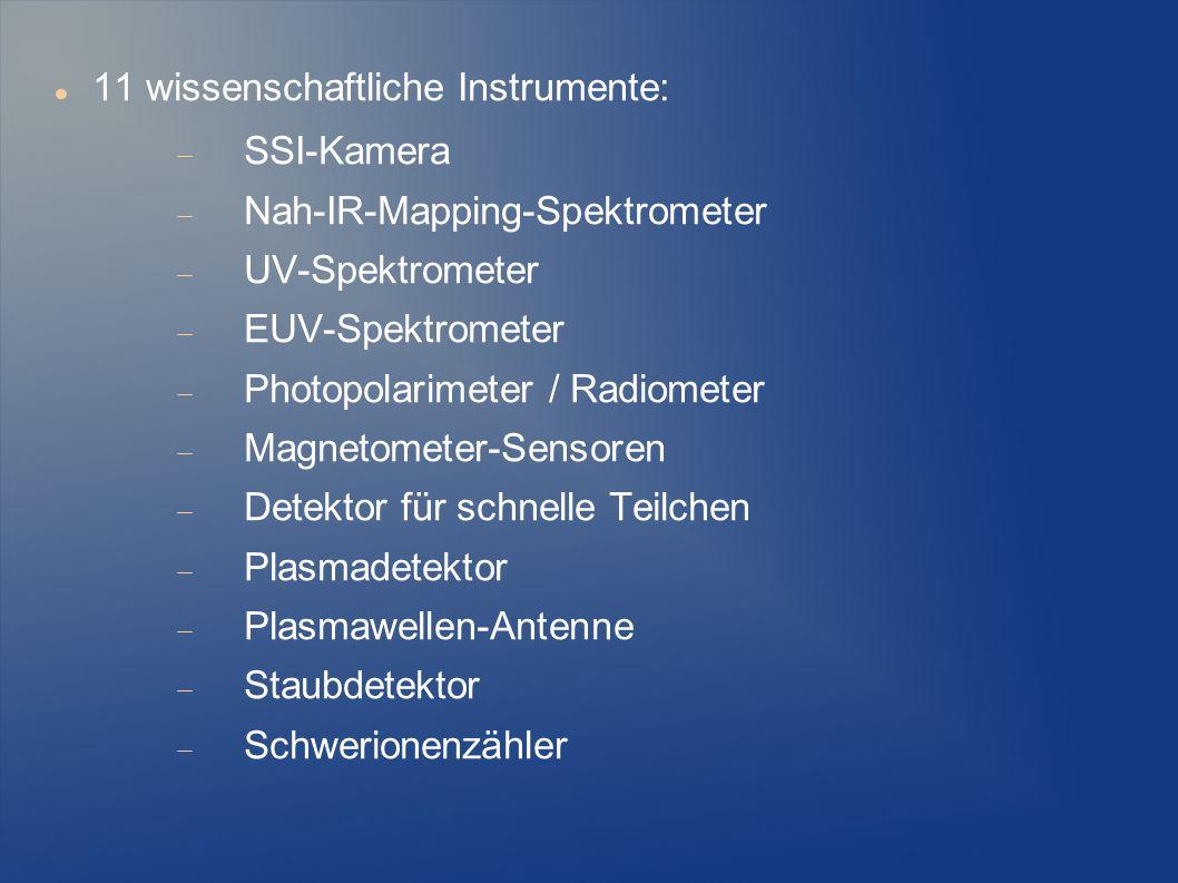 11 wissenschaftliche Instrumente: