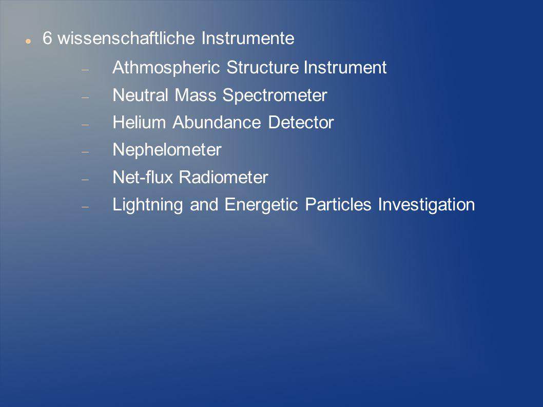 6 wissenschaftliche Instrumente