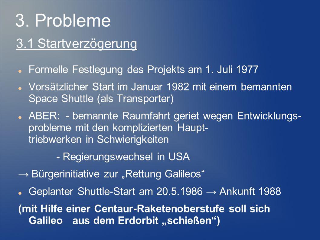 3. Probleme 3.1 Startverzögerung