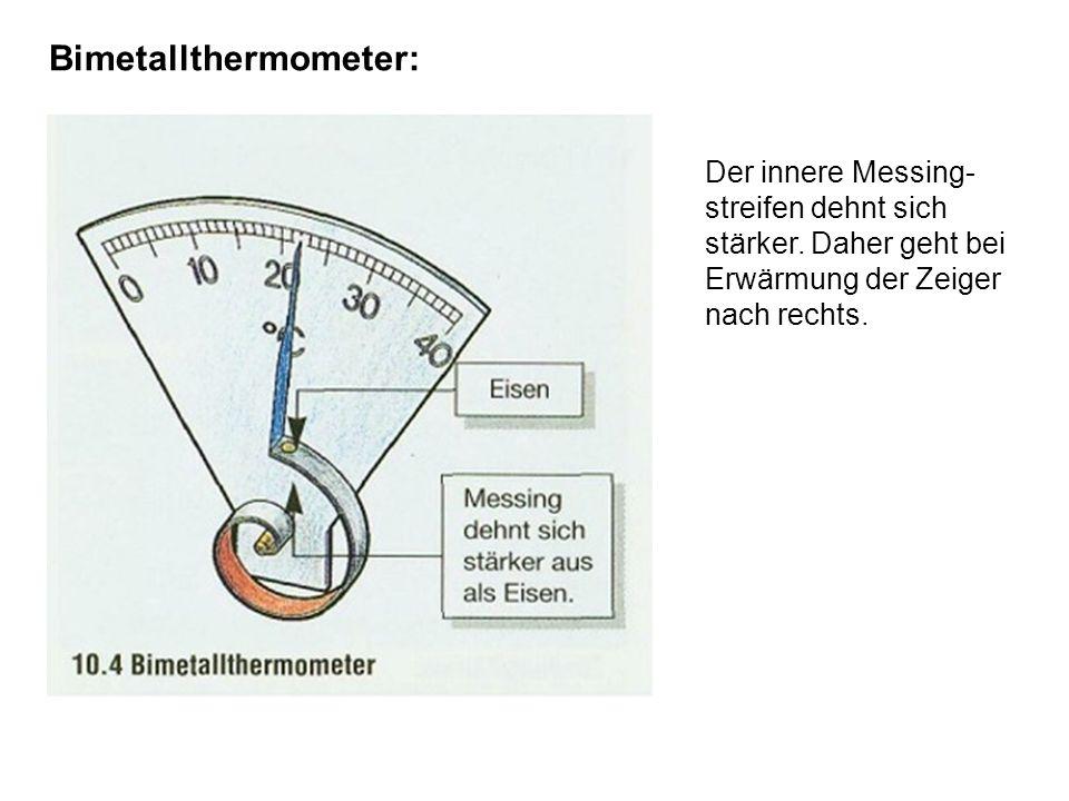 Bimetallthermometer: