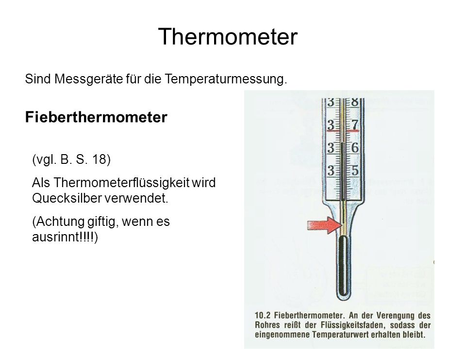 Thermometer Fieberthermometer