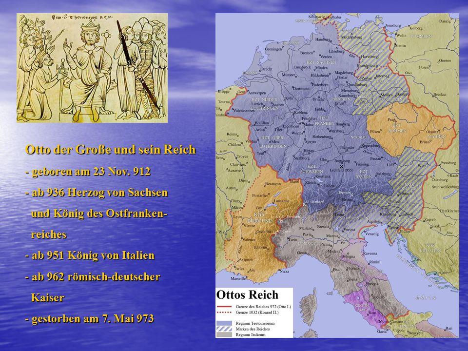 Otto der Große und sein Reich