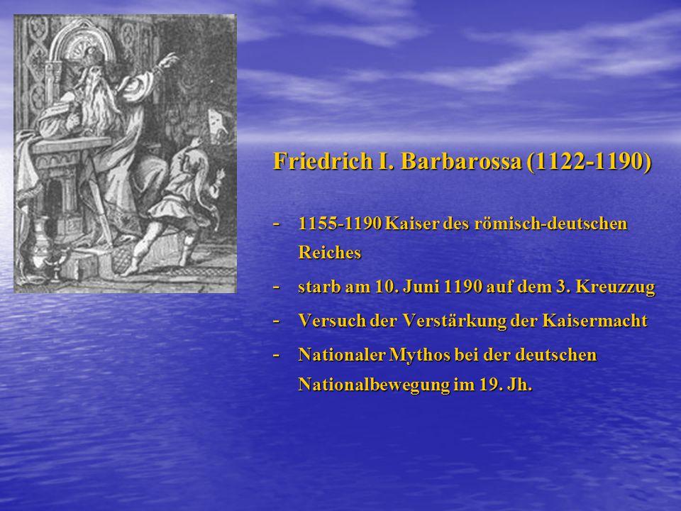 Friedrich I. Barbarossa (1122-1190)
