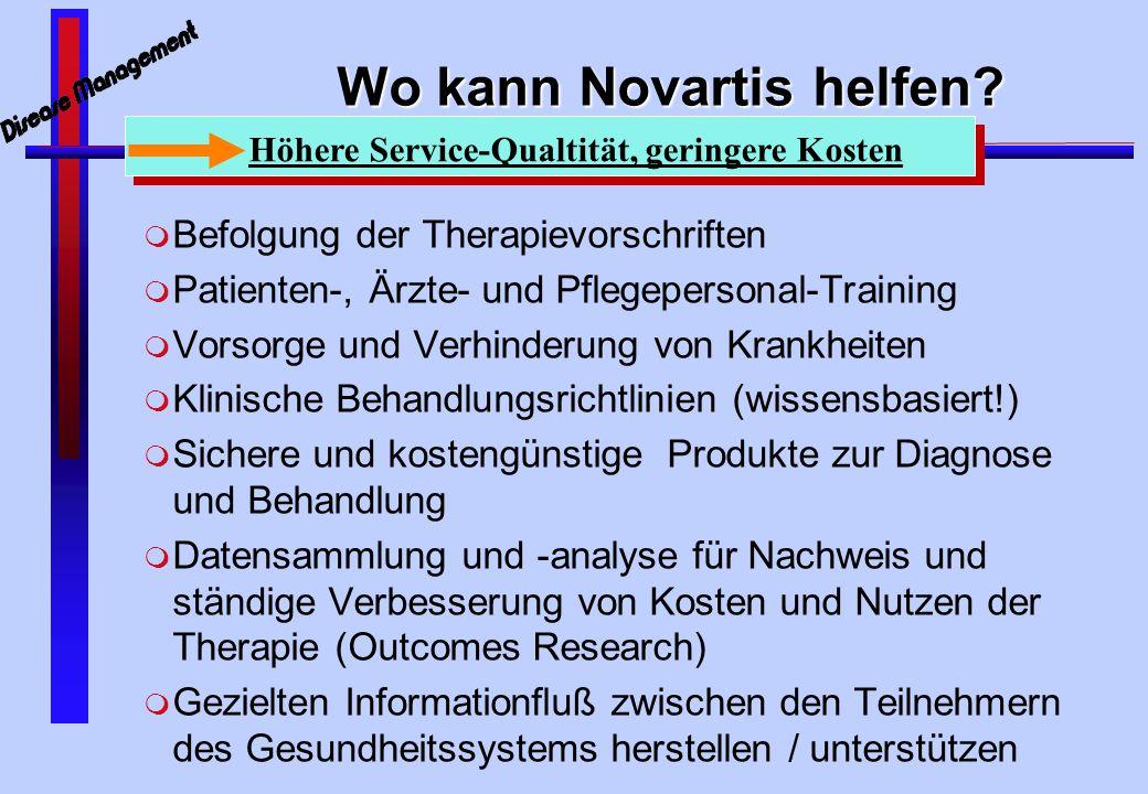 Wo kann Novartis helfen