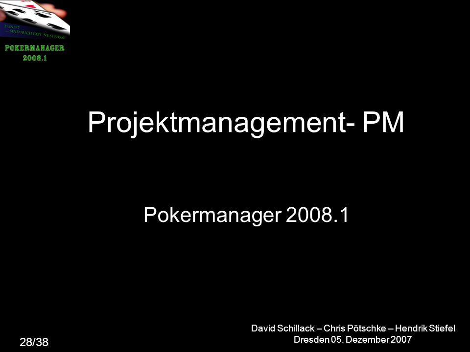 Projektmanagement- PM