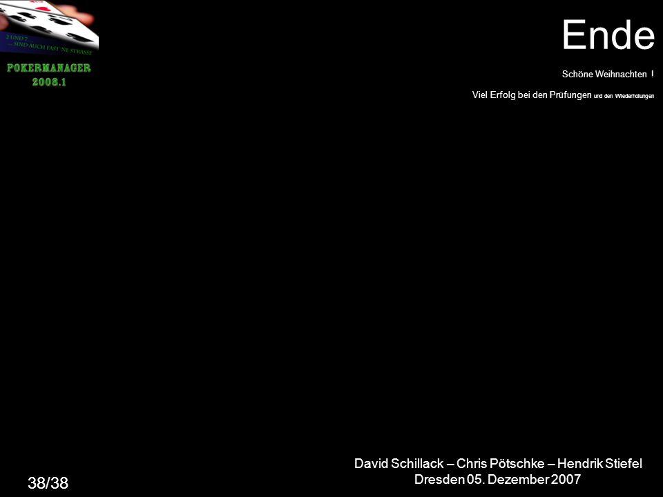 David Schillack – Chris Pötschke – Hendrik Stiefel