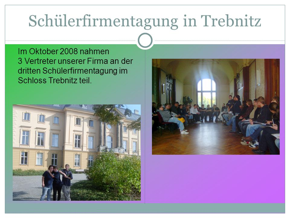 Schülerfirmentagung in Trebnitz