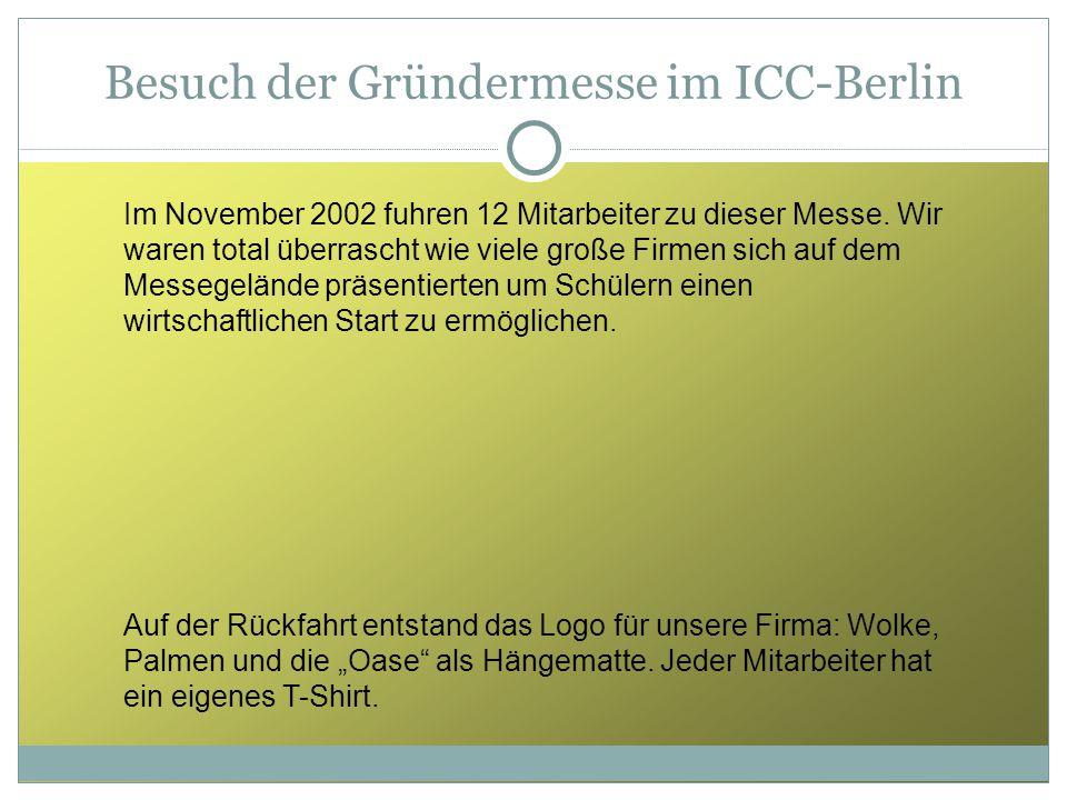 Besuch der Gründermesse im ICC-Berlin