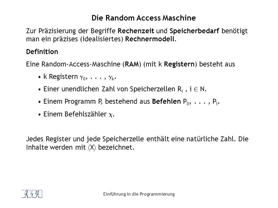 Die Random Access Maschine