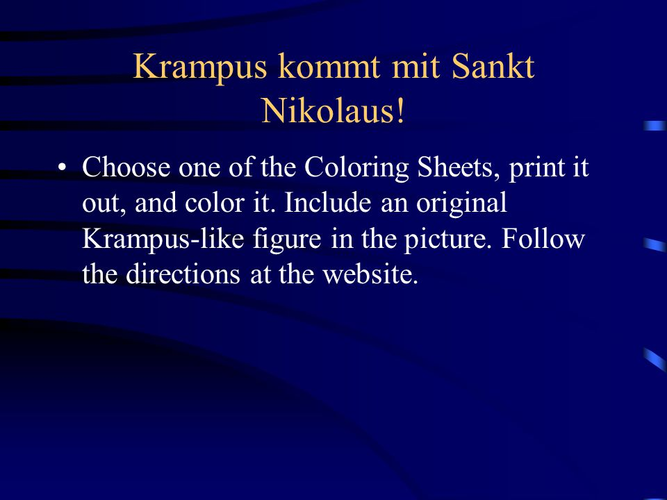 Krampus kommt mit Sankt Nikolaus!