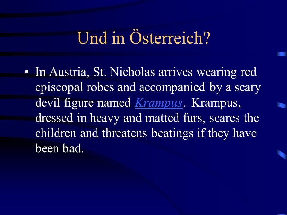 Und in Österreich