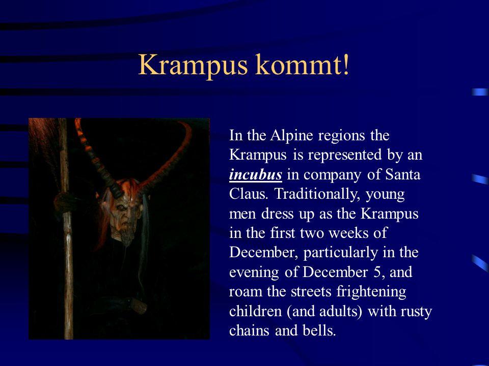 Krampus kommt!