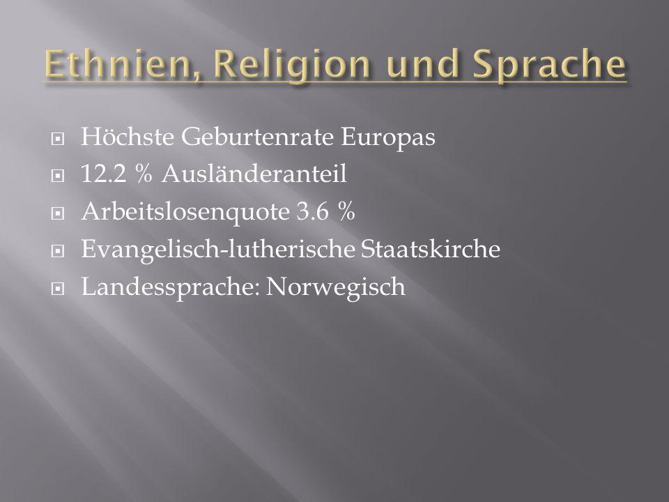 Ethnien, Religion und Sprache