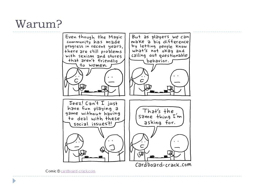 Warum Comic © cardboard-crack.com