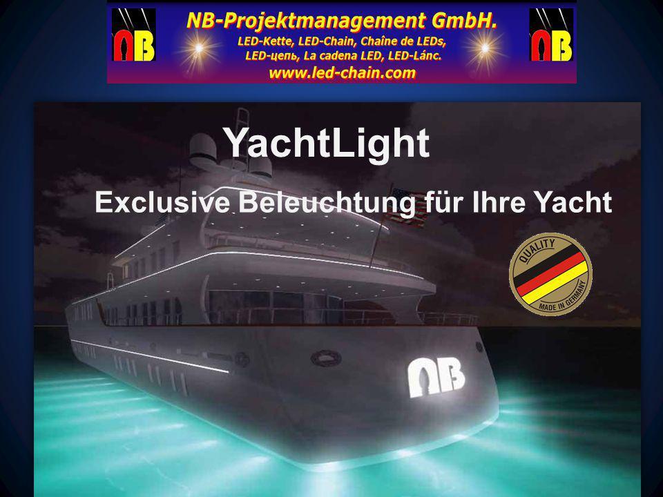 Exclusive Beleuchtung für Ihre Yacht