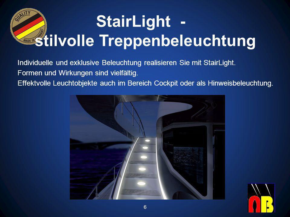 StairLight - stilvolle Treppenbeleuchtung