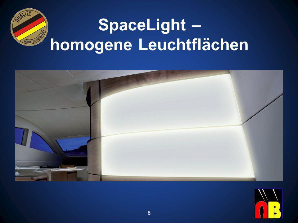 SpaceLight – homogene Leuchtflächen