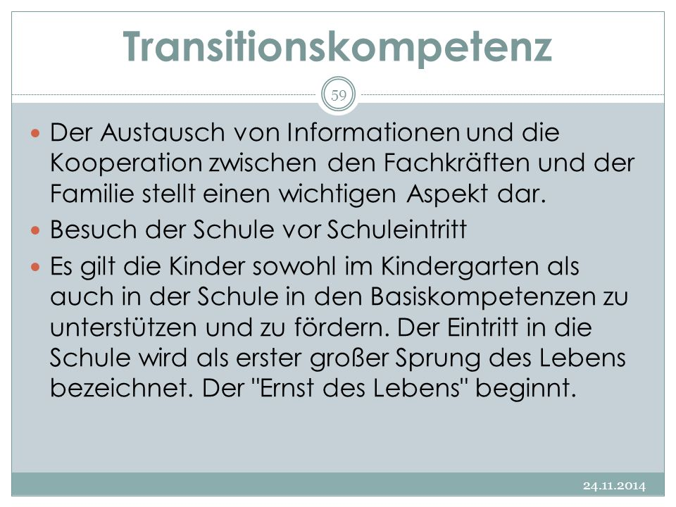 Transitionskompetenz