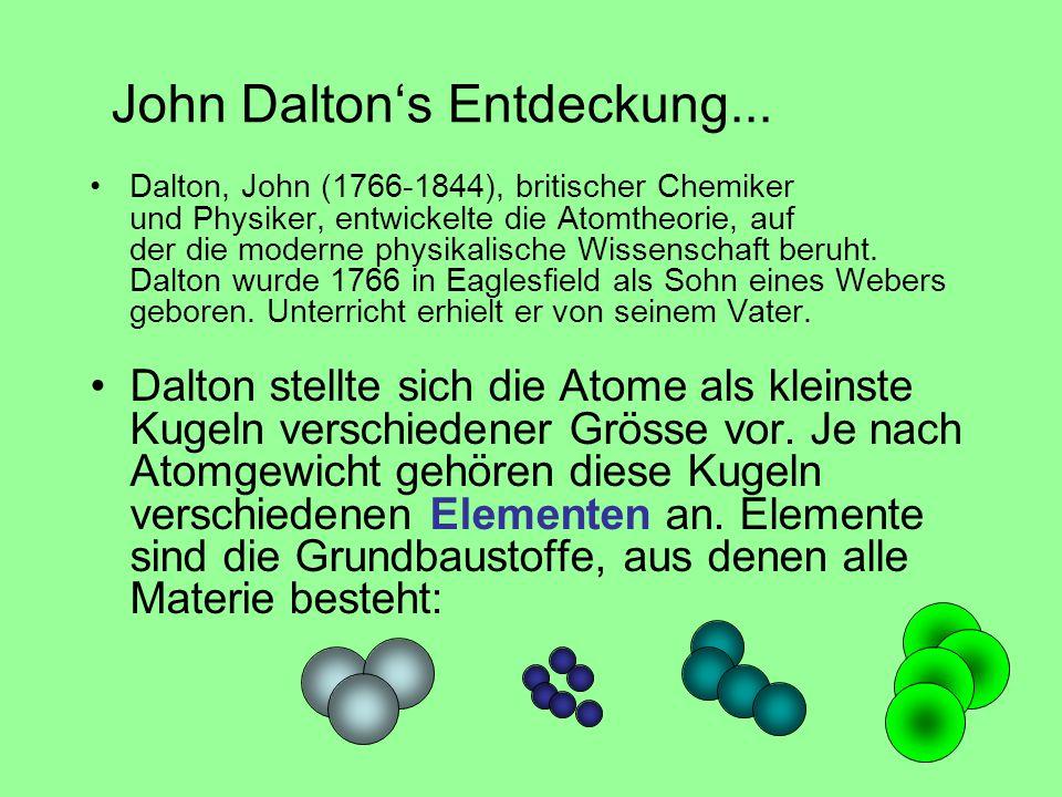 John Dalton's Entdeckung...
