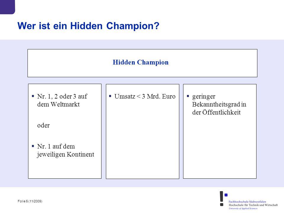 Wer ist ein Hidden Champion