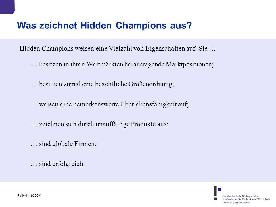 Was zeichnet Hidden Champions aus