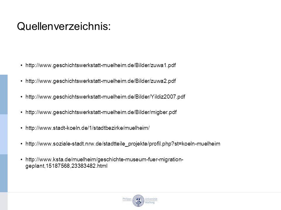 Quellenverzeichnis: http://www.geschichtswerkstatt-muelheim.de/Bilder/zuwa1.pdf. http://www.geschichtswerkstatt-muelheim.de/Bilder/zuwa2.pdf.