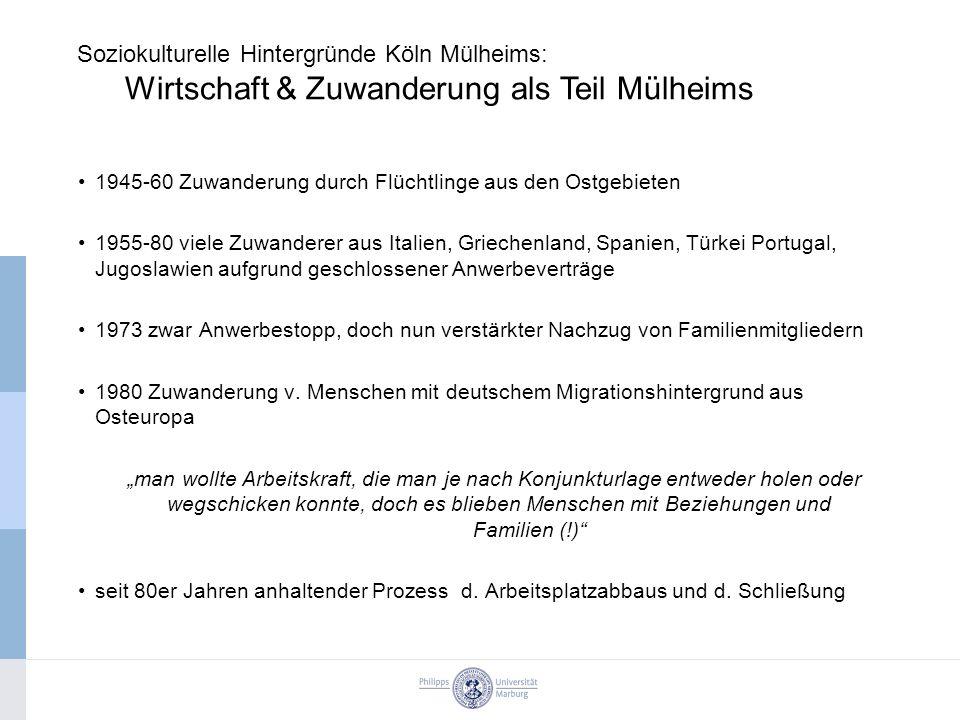 Soziokulturelle Hintergründe Köln Mülheims: Wirtschaft & Zuwanderung als Teil Mülheims