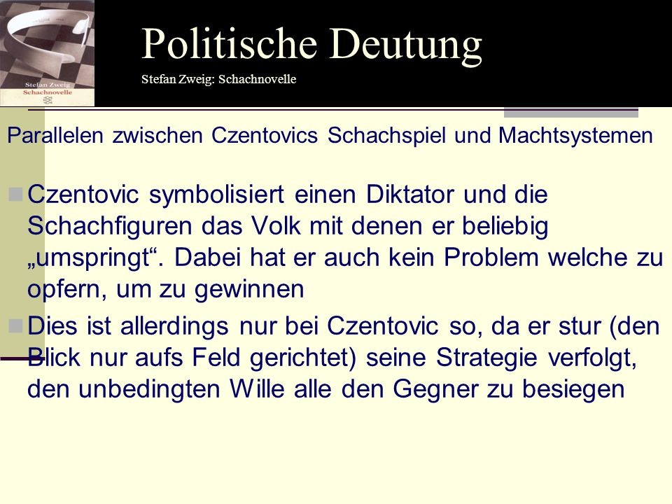 Politische Deutung Politische Deutung