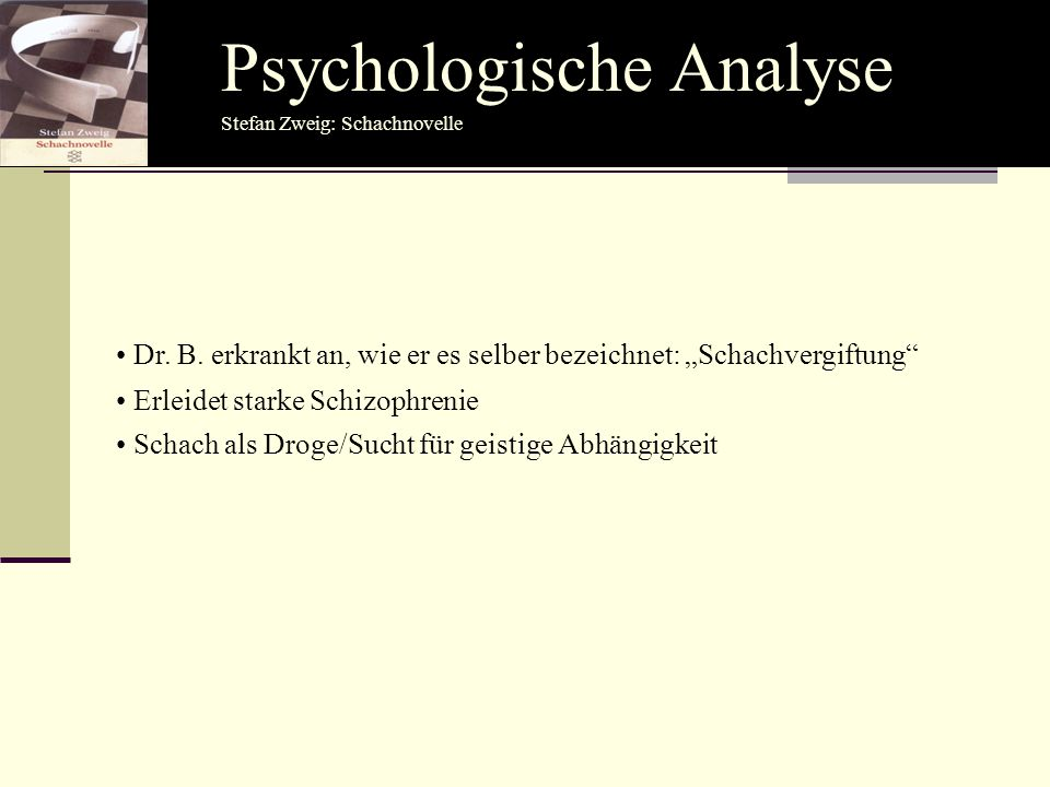 Psychologische Analyse