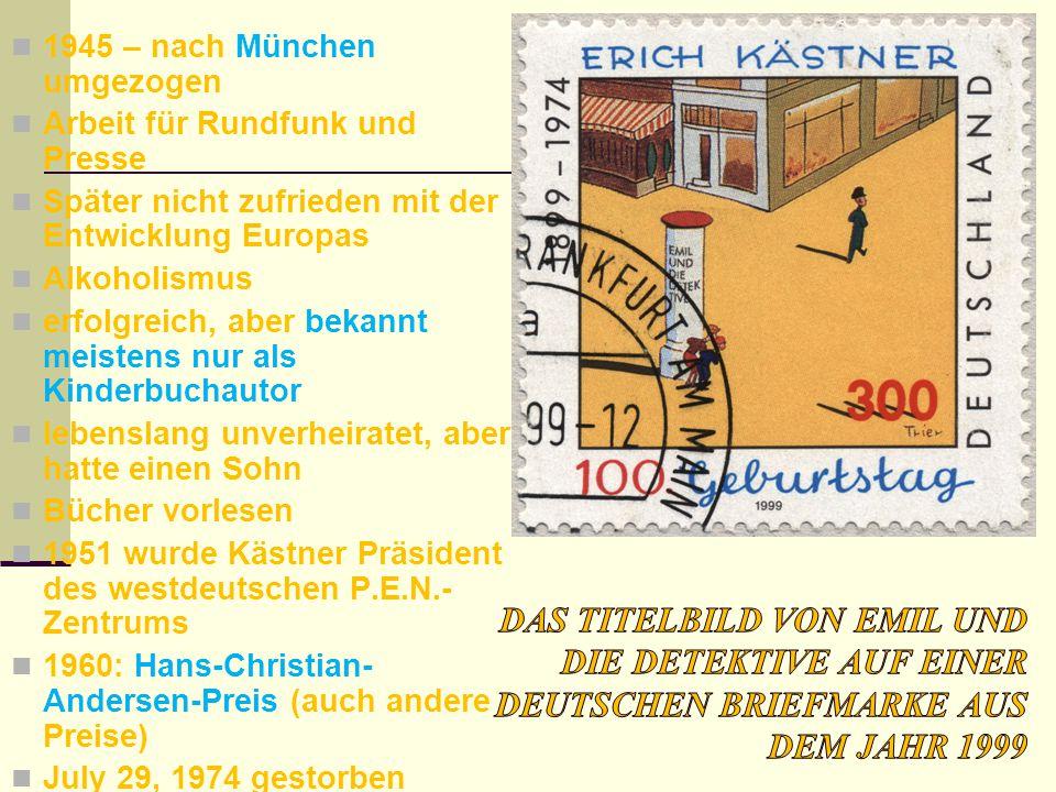 1945 – nach München umgezogen