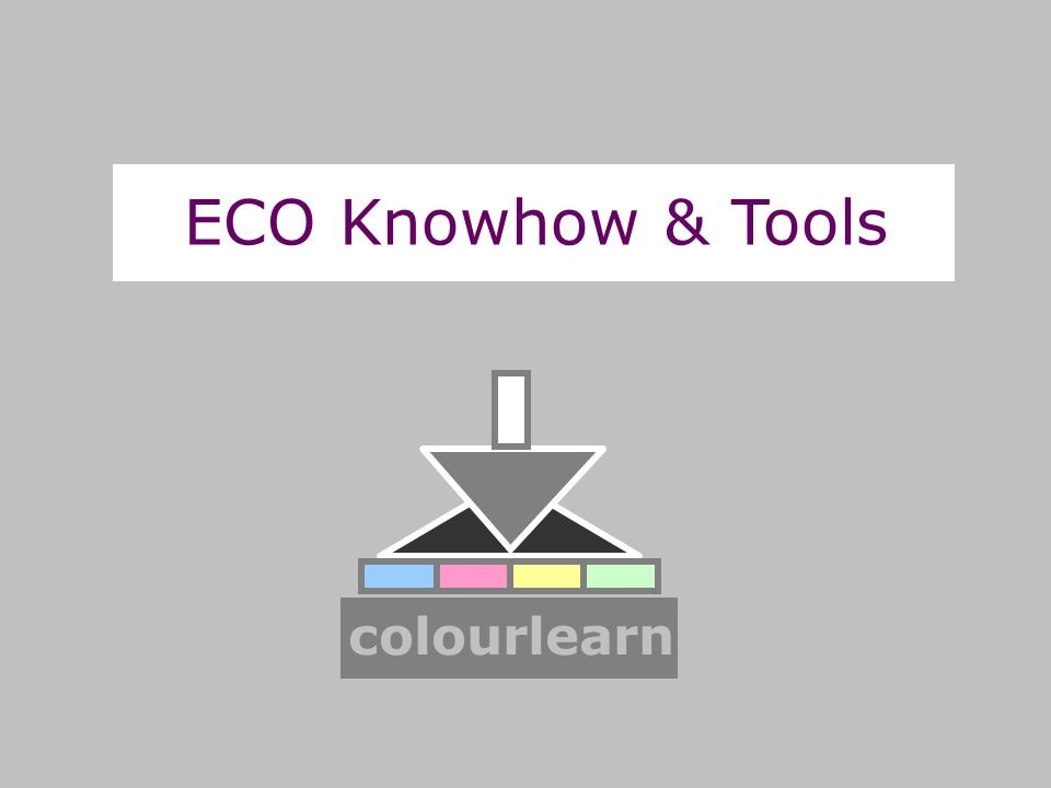 ECO Knowhow & Tools colourlearn