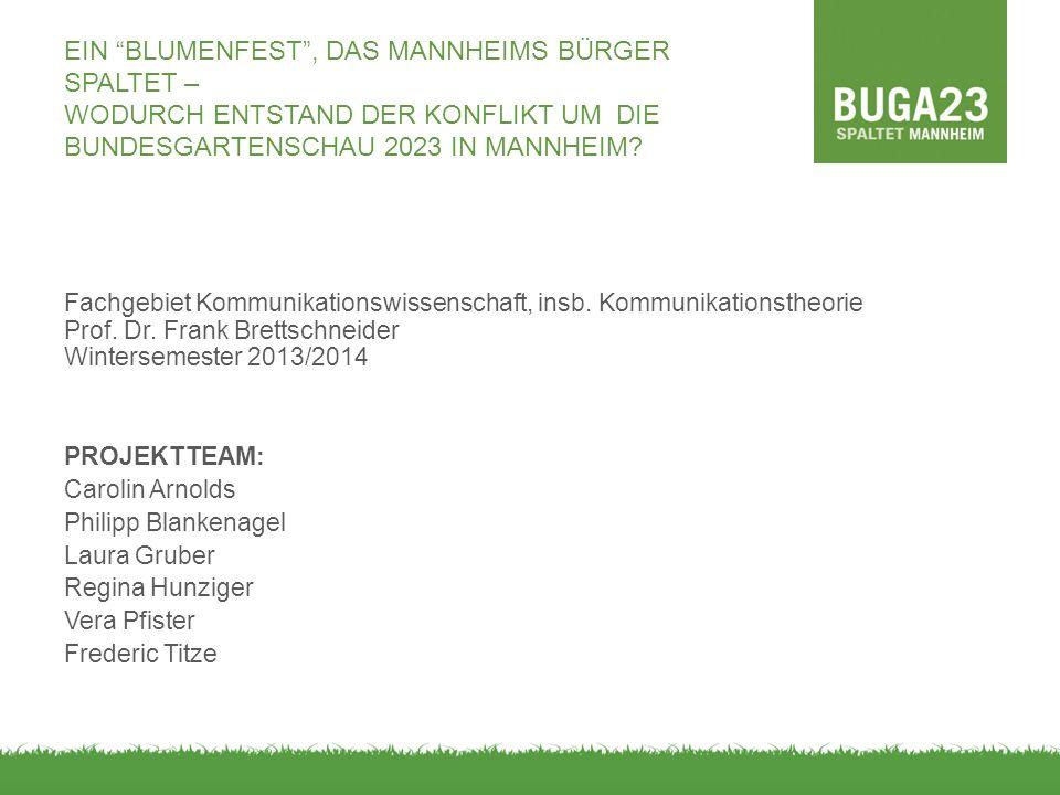 Ein Blumenfest , das Mannheims Bürger spaltet – Wodurch entstand der Konflikt um die Bundesgartenschau 2023 in Mannheim