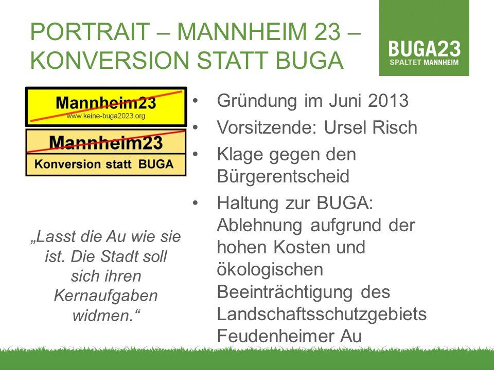 Portrait – Mannheim 23 – Konversion statt buga